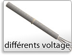 Diferencia de voltaje, Different voltages
